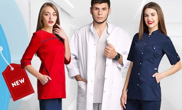 51e6c59790523f Медичні халати «Модний Доктор»: виходить новий каталог! - Оголошення ...