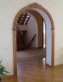міжкімнатні арки фото