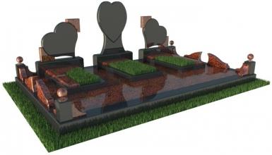 Установка памятника на кладбище (Луцк, Горохов, Нововолынск)