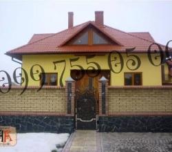 Забор из кирпича — заказать на ogorozhi.ub.ua