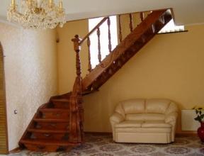 Дерев'яні сходи - купити на bebko.ub.ua