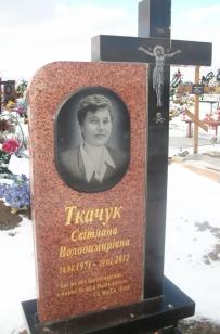 Пам'ятники з граніту (Луцьк, Ковель, Любомль)
