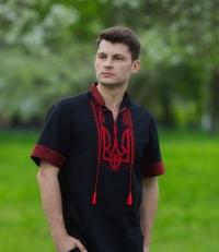 Мужская вышиванка высокого качества