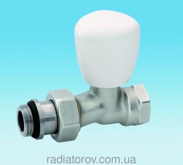 Кран радіаторний прямий - оптом і в роздріб