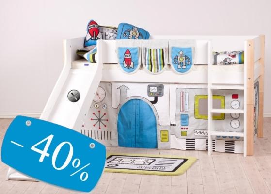 40% скидка на детскую кровать
