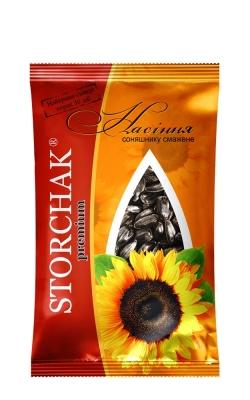 Насіння соняшника Storchak Premium, 80 г оптом та вроздріб