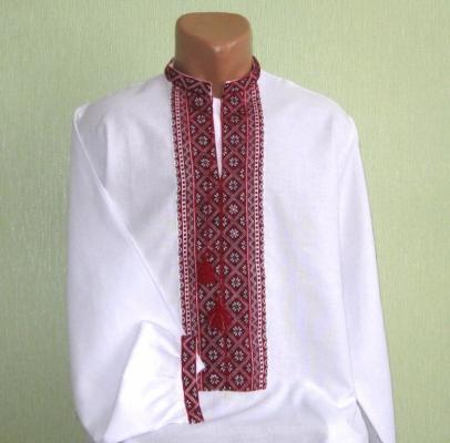 Чоловічі ексклюзивні вишиванки ручної роботи недорого (Україна ... 026da0ac75602