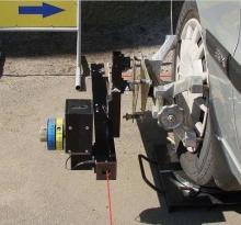 ТМ «Вектор» пропонує лазерний стенд розвал-сходження