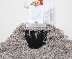 Конфиденциальное уничтожение бухгалтерской документации (Киев)