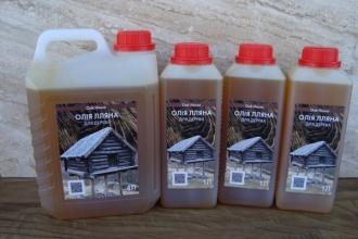 Лляна олія для обробки дерева продається тут!
