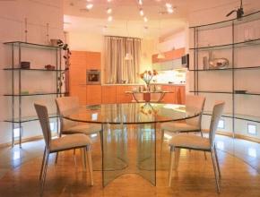 Скло для меблів - оригінальний спосіб декорації приміщення