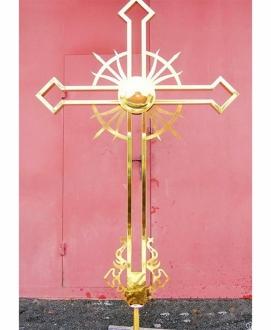 Крест накупольный, высокое качество (Украина)