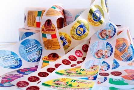 Етикетки в рулонах і листах, ціна оптимальна