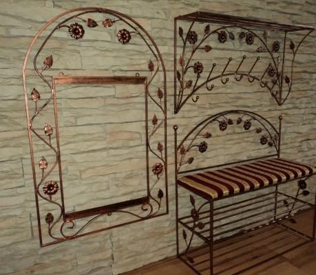 Ковані меблі для вітальні