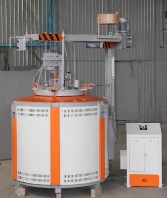Электропечь для газового азотирования СШАМ. Изготавливает Бортек, г. Борисполь, Украина