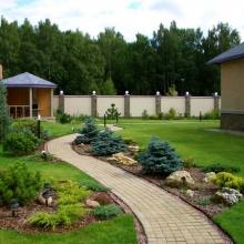 Дизайнерское оформление садового участка
