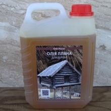 У продажу лляна олія для дерев'яної підлоги