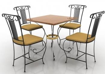 Кованая мебель по доступным ценам