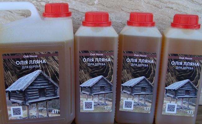 Просочення лляною олією: гарантія якості, ціна виробника!