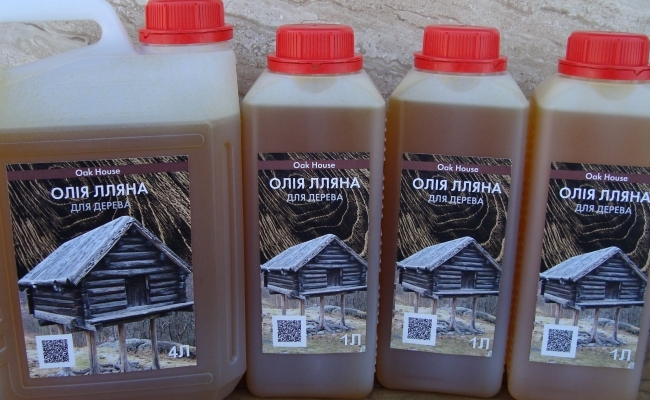 Обработка дерева маслом: средства в наличии!