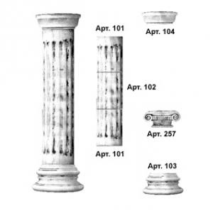 Декоративні колони, купити в інтернет-магазині