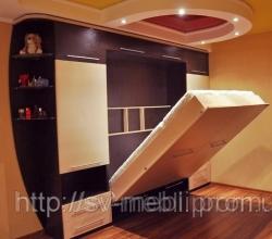 Шкаф-кровать-трансформер по индивидуальному проекту