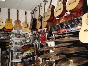 Продажа музыкального оборудования и инструментов