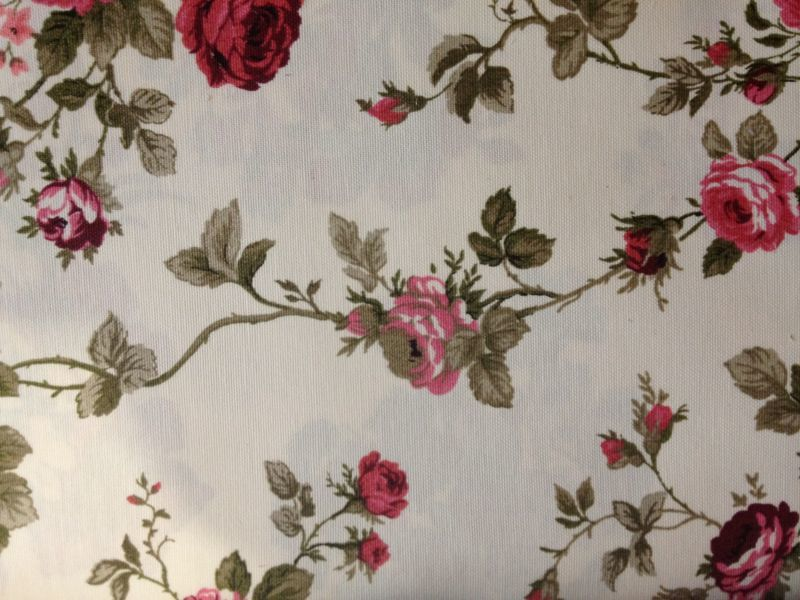 Пошити штори в дрібну квіточку