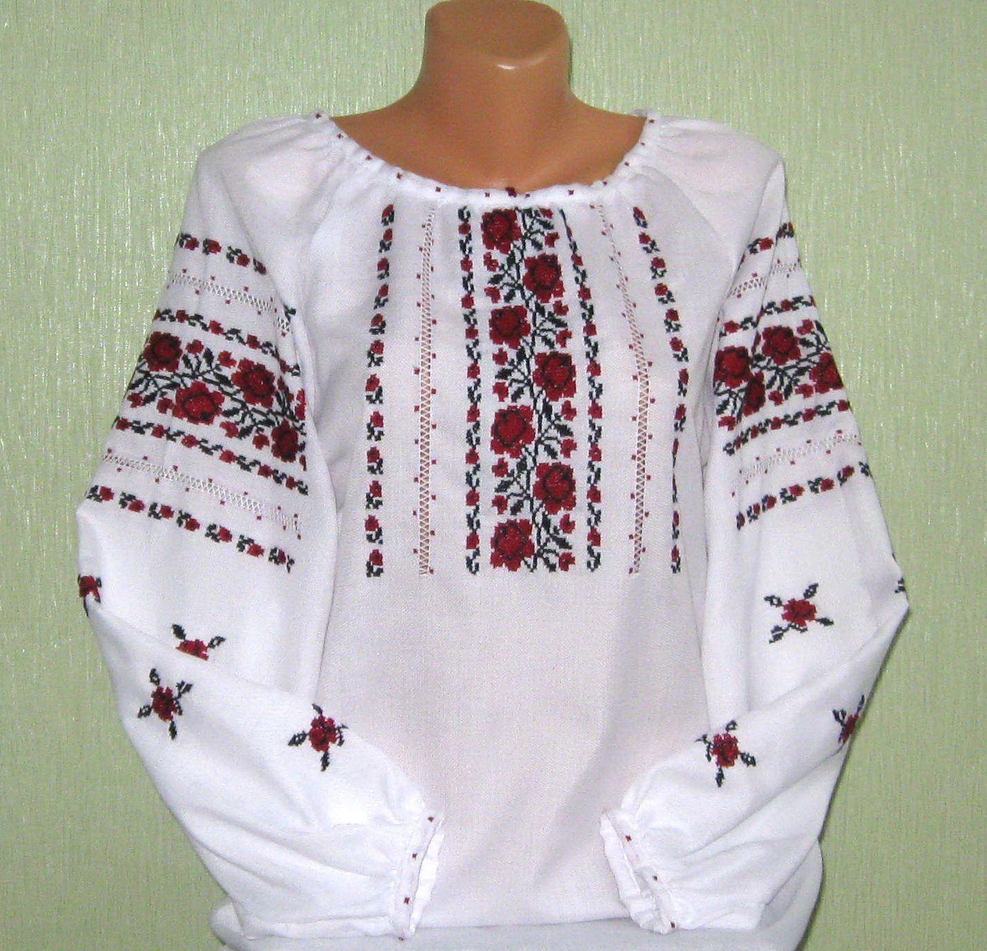 Вышитая рубашка от производителя «Ярина»