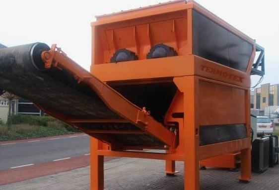 Оборудование для переработки старых автомобильных шин