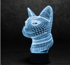 пропонуємо купити 3Д світильник