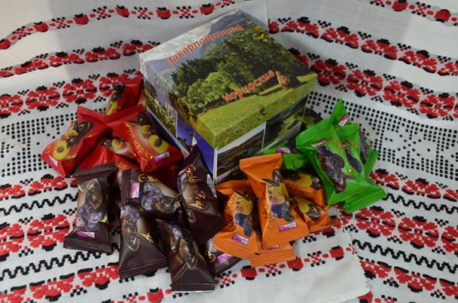 Купити цукерки шоколадні