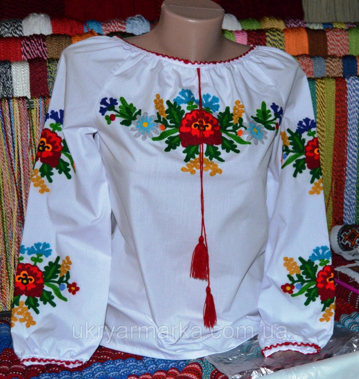 Купити вишиту блузку - Оголошення - Вишиванки ручної роботи від ... 14756f1453574