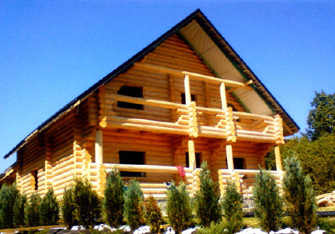 Строительство домов из бруса, заказать в Ивано-Франковске