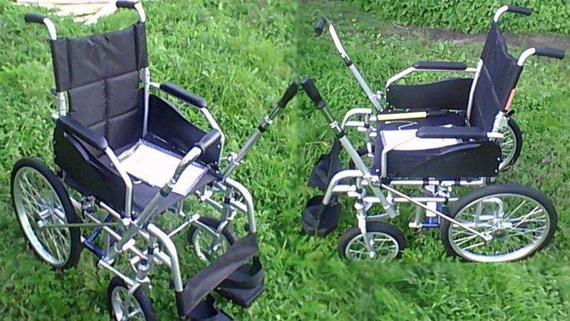 Кресло-коляска с рычажным приводом, недорого!