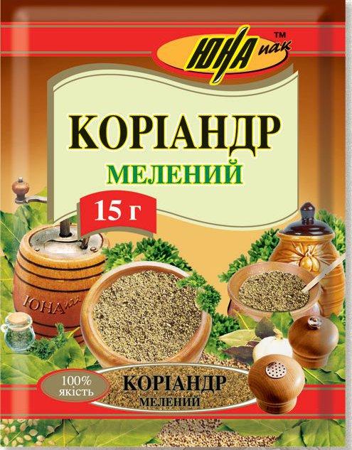 Купити коріандр мелений (Україна)