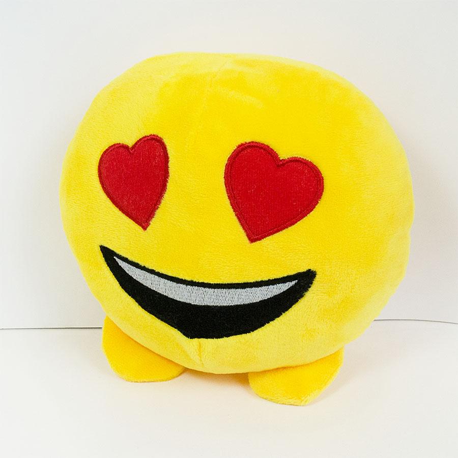М'яка іграшка «Смайлик emoji улюбленець» є в наявності