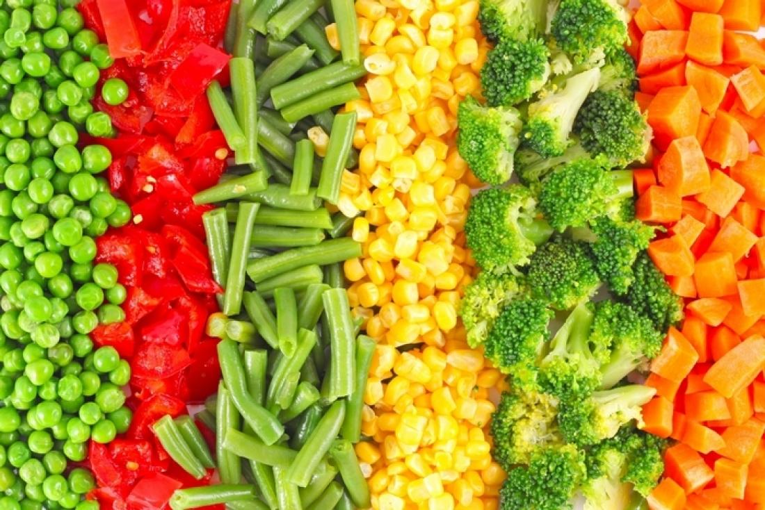 Заморожені овочі оптом та вроздріб