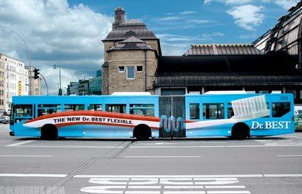 Нужна наружная реклама на транспорте? Обращайтесь к профессионалам