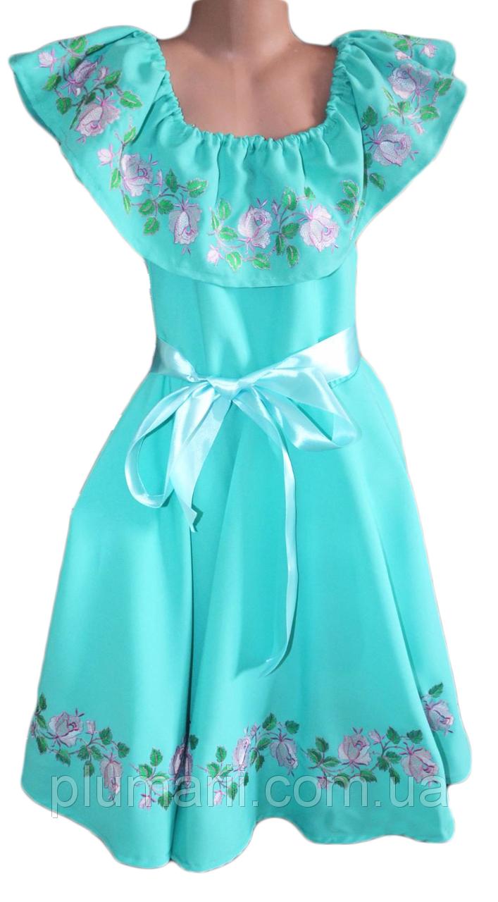 Купити приталене вишите плаття - Оголошення - Plumarii- я душу ... acfdd9f91ca0a