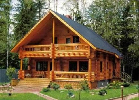 Побудувати заміський будинок з бруса