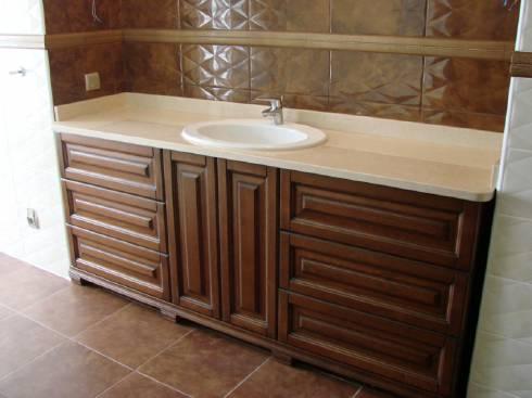 Купить мебель для ванной комнаты по индивидуальным размерам недорого