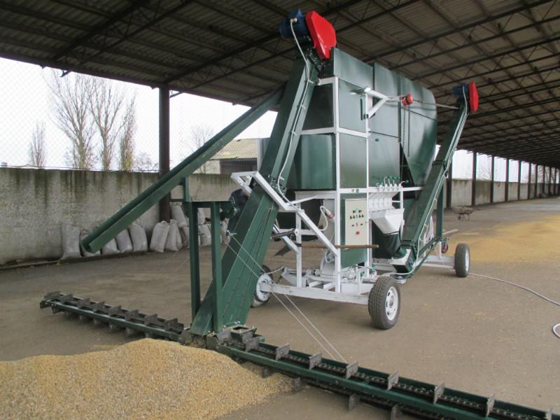 Зерноочистительная техника высшего образца