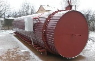 Термомодифікація деревини - купити обладнання