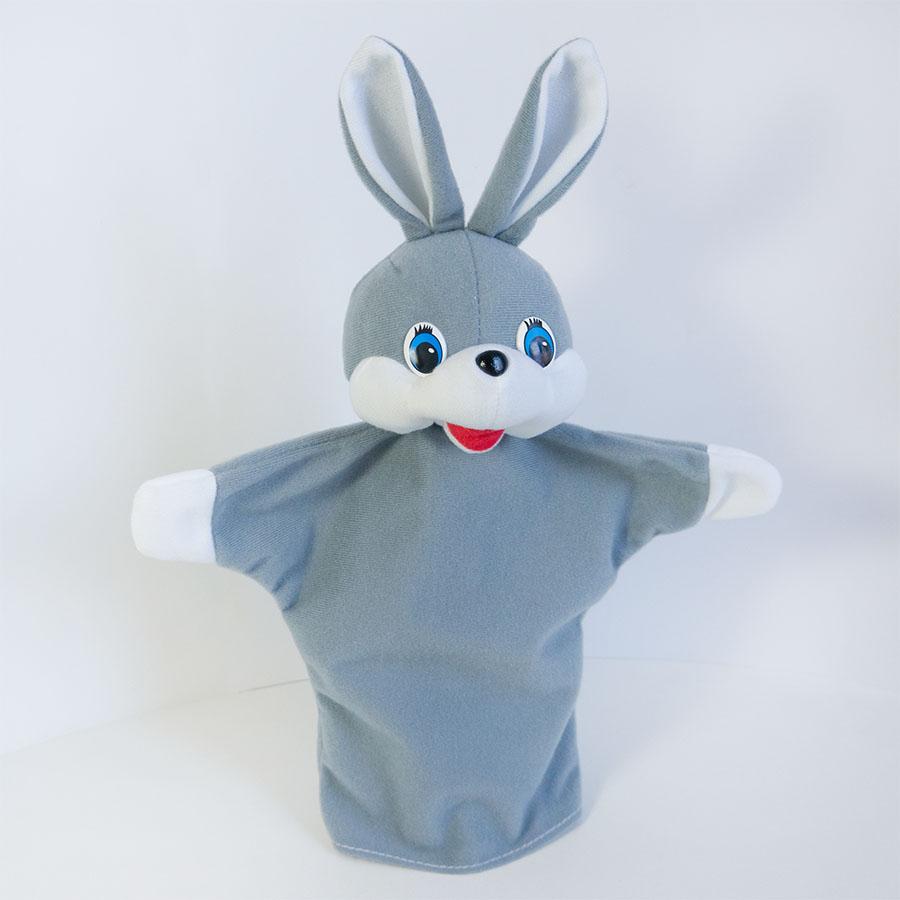 Замовити іграшку-рукавицю «Заєць» в ТМ «Золушка»