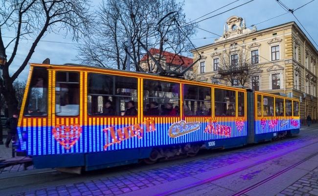 Во Львове реклама на трамваях - это легко, эффективно, выгодно!