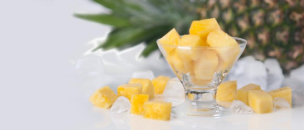 Купити заморожені ананаси оптом