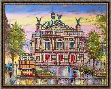 В продаже наборы для вышивания городов
