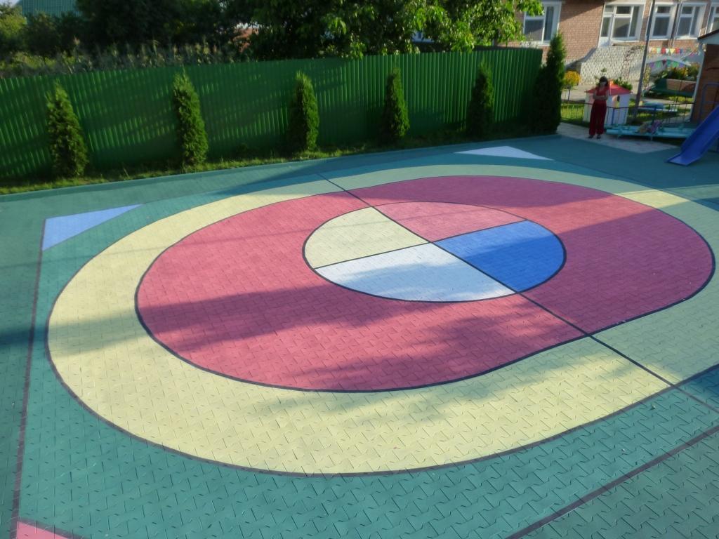 Купить резиновую плитку для детских площадок