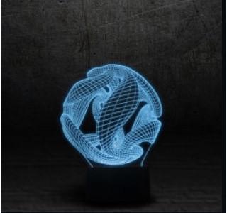 Купуйте 3D світильник